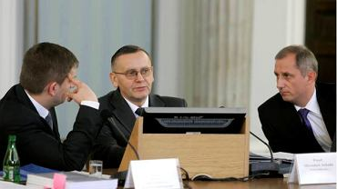 Bartosz Arłukowicz, Mirosław Sekuła i Sławomir Neumann