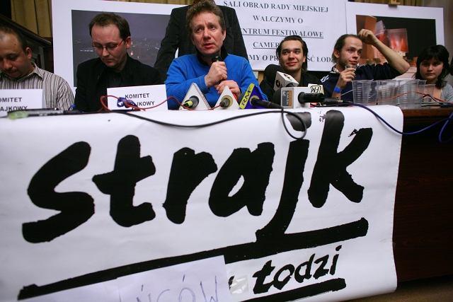 Zawieszono okupację sali Rady Miejskiej w Łodzi