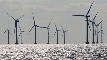 Morska farma wiatrowa / zdjęcie ilustracyjne.
