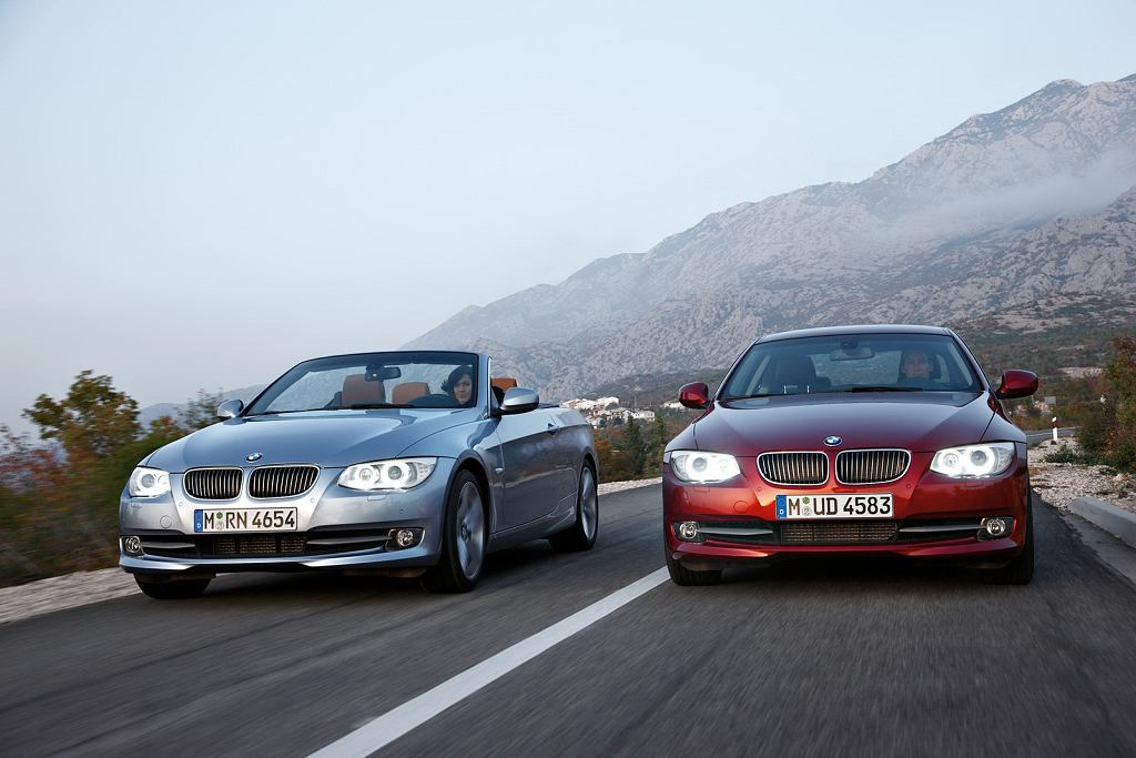 Face-lifting BMW 3 Coupe/Cabriolet