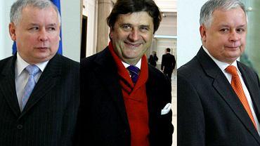 Jarosław Kaczyński, Janusz Palikot, Lech Kaczyński