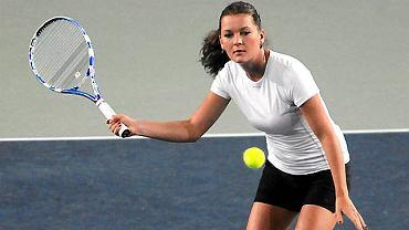 Agnieszka Radwańska trenuje w Bydgoszczy