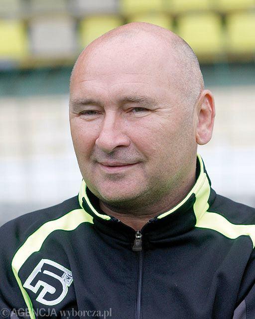 Trener GKS-u Tychy Jan Żurek