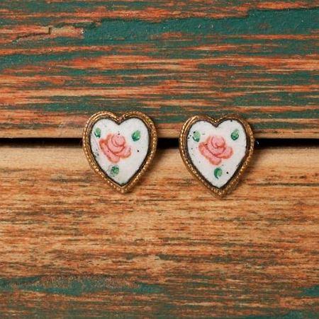 Kolczyki dla romantyczek