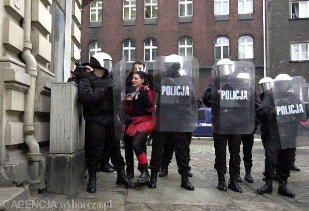 Protest squattersów, Wrocław
