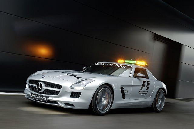 Mercedes SLS AMG Safety Car