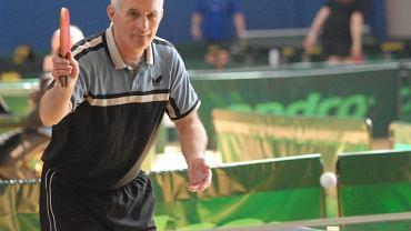 Marian Finkowski jest jednym z najbardziej dowiadczonych uczestników rozgrywek