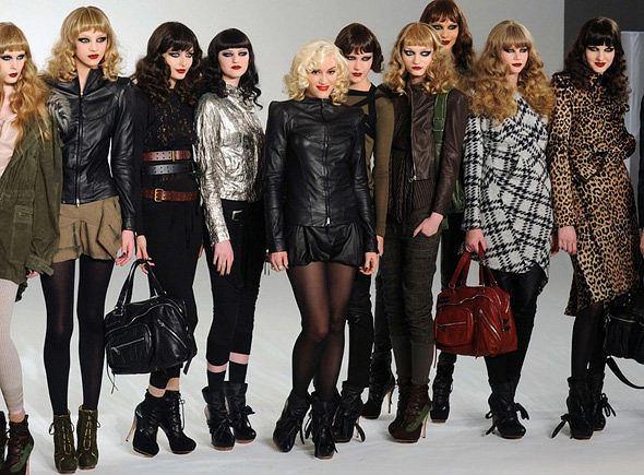 Pokaz kolekcji L.A.M.B. Gwen Stefani podczas New York Fashion Week fot. East News