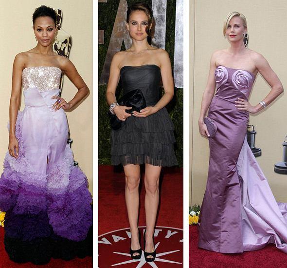 Zoe Saldana,Natalie Portman,Charlize Theron