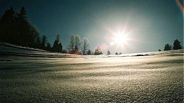 Dziewiczy śnieg pod Bystrzykiem