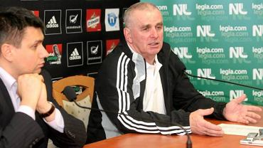 Leszek Miklas i Stefan Białas