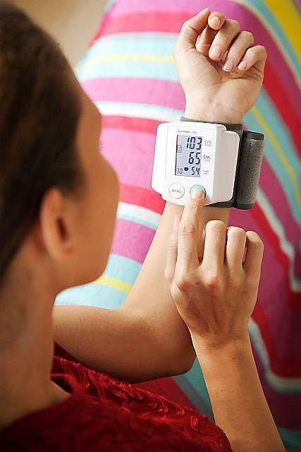 Wartość ciśnienia badanego w domu są z reguły niższe od stwierdzanych podczas wizyt u lekarza.