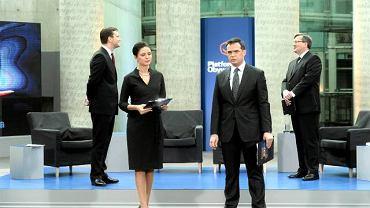 Debata Sikorski-Komorowski w BUW-ie