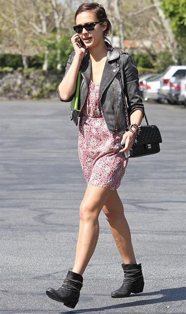 Jessica Alba wiosennie
