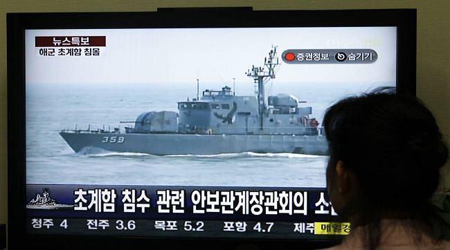 Relacja z incydentu w południowokoreańskiej telewizji