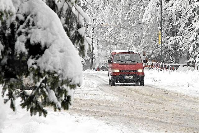 Powrót zimy w Zakopanem, kwiecień 2010