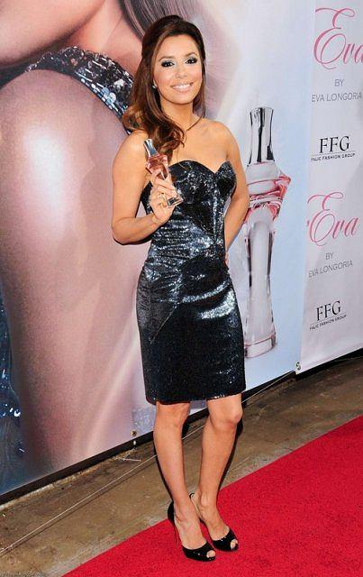 Eva Longoria promuje swoje perfumy