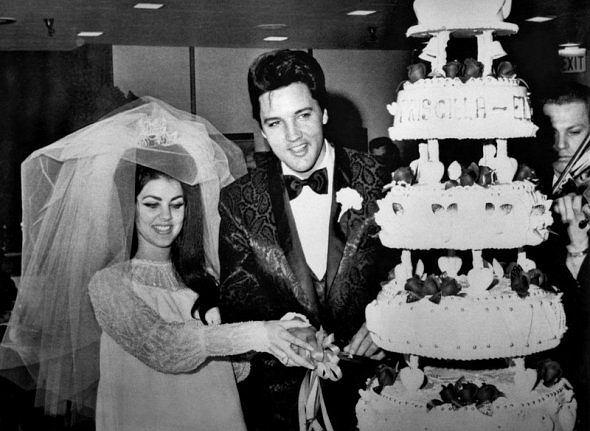 Priscilla i Elvis Presley, 5.01.1961r.