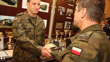Marcin Dołęga jest zawodowym żołnierzem
