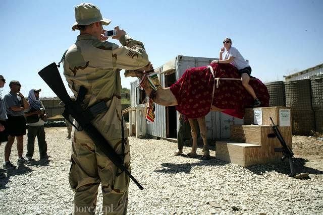 Amerykańska baza wojskowa w Bagramie, Afganistan 2007 r.