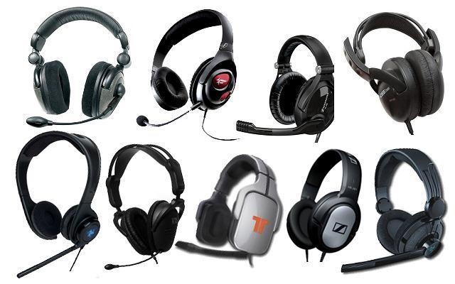 Słuchawki dla graczy - kostka
