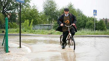 Powódź w Ropczycach