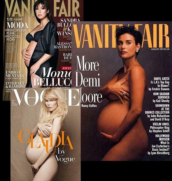 Gwiazdy w ciąże na okładkach czasopism