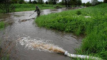 Rzeka Rudawa w Małopolsce
