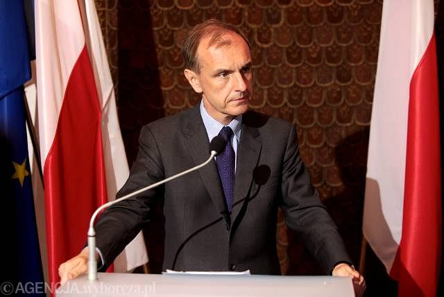 Minister obrony narodowej Bogdan Klich