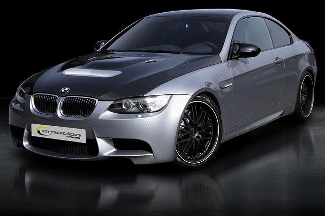 BMW M3 (E92) podkręcone przez niemieckiego tunera Emotion Wheels