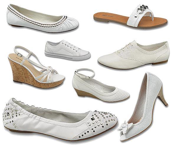 Poniżej 70 zł - Białe buty Deichmann