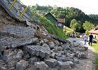 Zobacz, gdzie powódź zniszczyła drogi