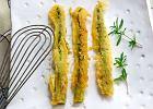 Szparagi w cieście piwnym z sosem aioli - Zdjęcia