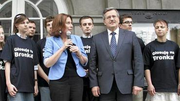 Rzeczniczka sztabu Bronisława Komorowskiego Małgorzata Kidawa-Błońska: więcej spotkań Komorowskiego z wyborcami