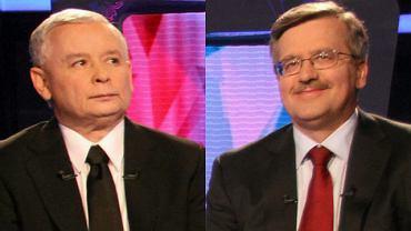 Jarosław Kaczyński, Bronisław Komorowski