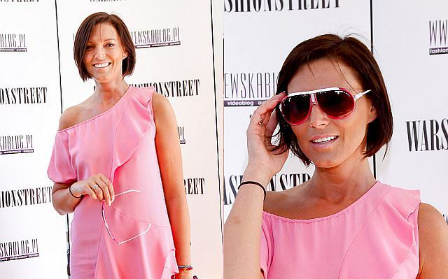Ilona Felicjańska pojawiła się w niedzielę na VI edycji Warsaw Fashion Street 2010.