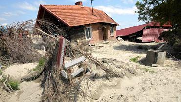 Sandomierz po powodzi, os. Kocmierzów