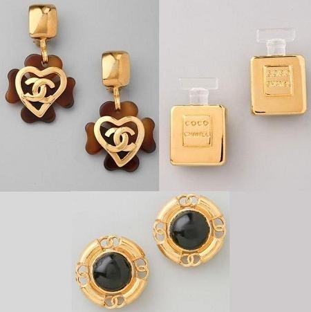 Kolczyki WGACA Vintage (Chanel)