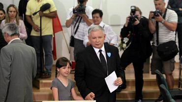 Jarosław Kaczyński głosował w komisji wyborczej nr 333 przy ulicy Siemiradzkiego na Żoliborzu