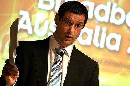 Minister Stephen Conroy