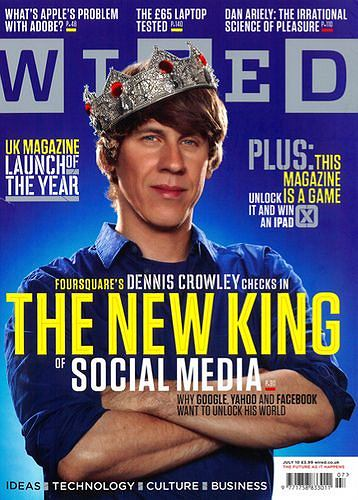 Magazyn Wired o Foursquare