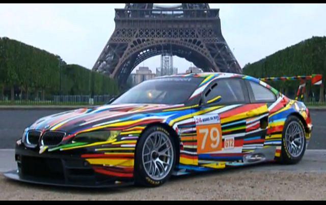 BMW Art Car stworzony przez Jeffa Koonsa