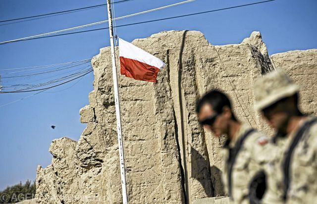 Polska baza Warrior w prowincji Ghazni w Afganistanie