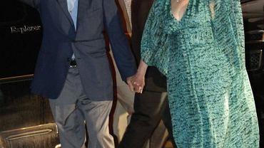 Hillary Clinton z mężem Billem przed ślubem ich córki Chelsea