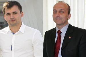 Marcin Dubieniecki i Kazimierz Marcinkiewicz