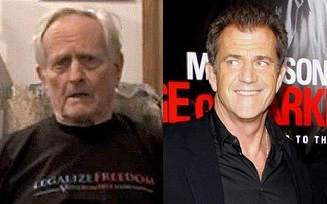 Hutton Gibson i Mel Gibson