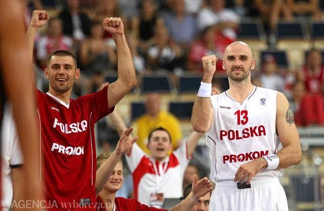 Polska - Belgia. Marcin Gortat
