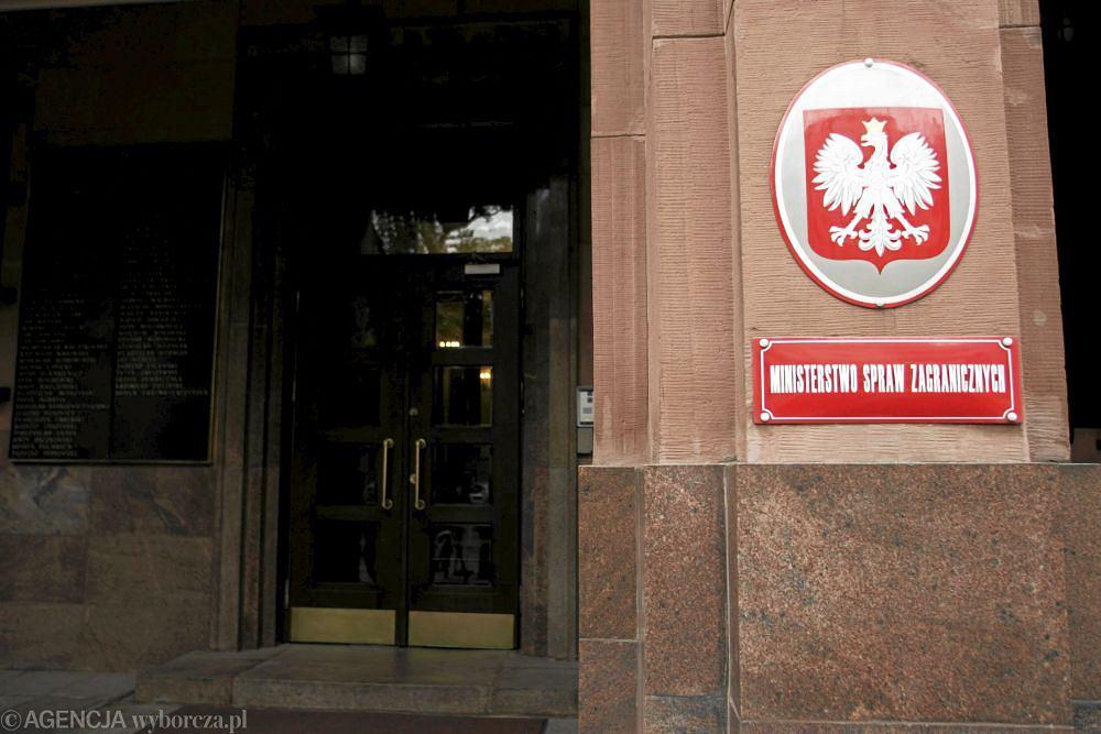 Siedziba MSZ w Warszawie