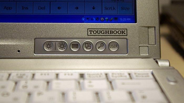 Przyciski Menu Panasonic Toughbook CF-C1
