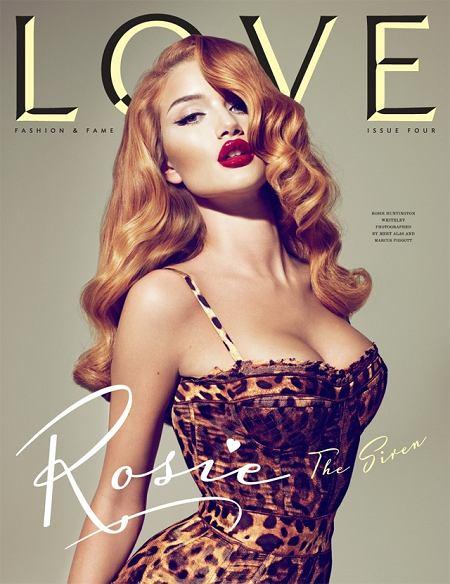 wrześniowy numer Love Magazine - Rosie Huntington Whiteley